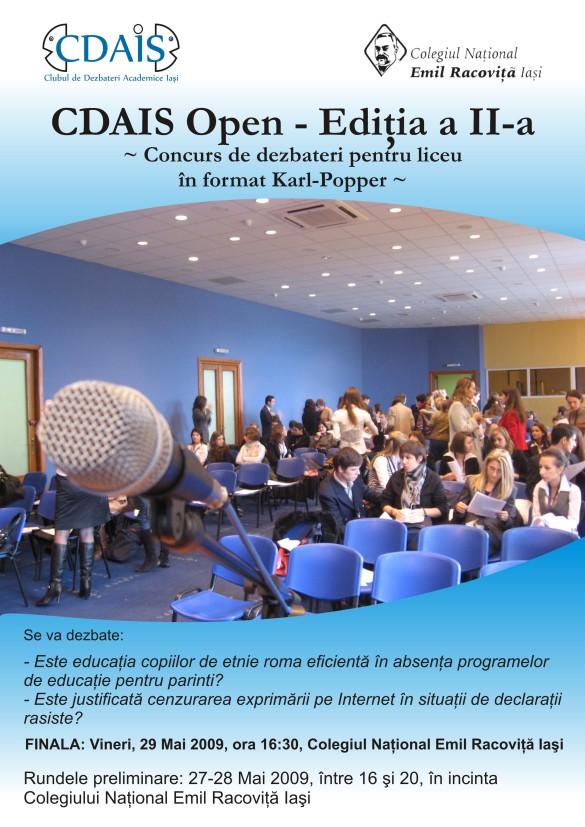 Afis CDAIS Open II - A4